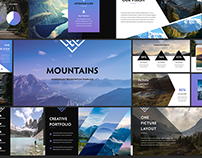 Mountains - PowerPoint Presentation Template