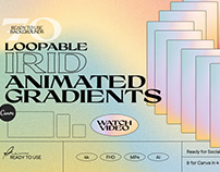IRID Animated Gradients Backgrounds