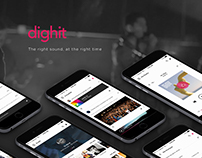 Dighit | Music streaming app