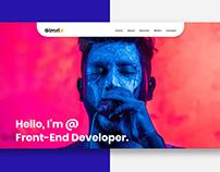 Creative Portfolio Web Page