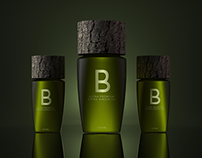 Olive oil bottles Design