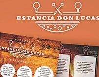 diseño de marca  de estancia don lucas