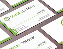 Professional Minimalist Business Card with Mock up