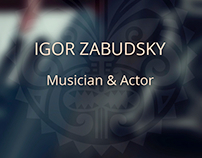 Website - Igor Zabudskiy