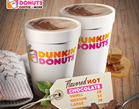 Dunkin Donuts Hot Chocolate