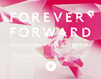Forever Forward Splash Page