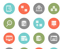 36 Free Data & Network Icons Set