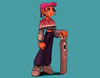 Character design / Kiara