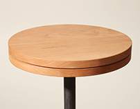 Swivel: Side Table