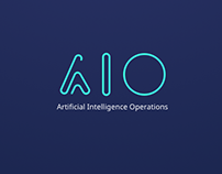 Artificial Intelligence Operation AIO Logo