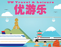 UW Travel & Leisure Promotional Banner