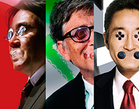 Gaming Politics- Tryptych