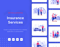 Insurance Service Illustrations
