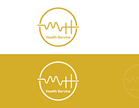 Logo Design   MH Health Service