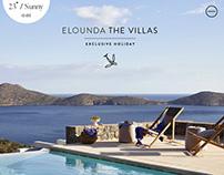 Elounda The Villas Website