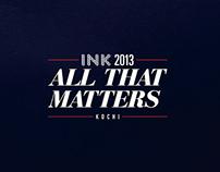 INK Conference 2013 Event Design