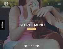 Starbucks Website Redesign