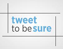 Acierto - tweet -to be- sure