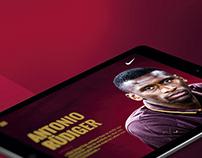Antonio Rüdiger Website und Markenbooklet