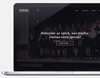 Svítání - czech choir website