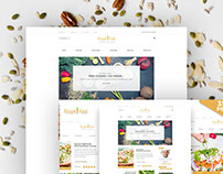 Recipe & Food - PSD Template