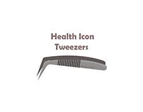 bix box studio - tweezers Health Icon