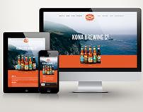 Kono Brewing Company Website Redsign