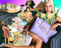 Fashion Campaigns Digital Collages