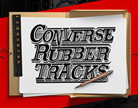 Converse Rubber Tracks Poster