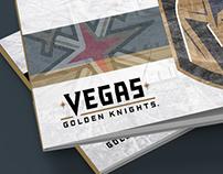 Las Vegas Golden Knights - Presentation Cover Concept