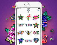Liberty London iMessage Sticker App