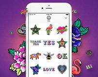 Liberty London iMessage Sticker App