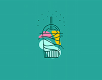 Fresh drinks - Line Icon