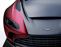 2020 Aston Martin V12 Speedster Black & Wine