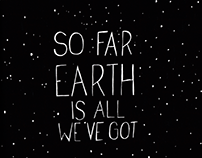 So far Earth is all we've got