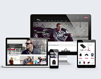 Jaguar USA eCommerce Site