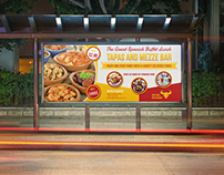 Restaurant Billboard Template Vol.10
