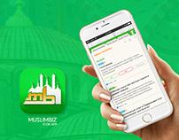 Muslimbiz iOS/Android App