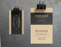 Sabre - Business Card Template