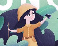 Jungle — Title Card Illustration