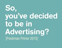 USC A3 Freshman Primer 2013