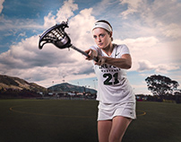 Mighty Lacrosse Player - Cal Poly