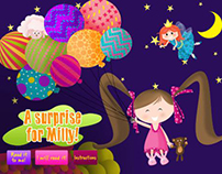 A surprise for Milly