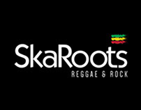 SKAROOTS REGGAE & ROCK | IDENTIDADE VISUAL