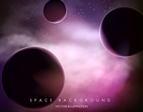 Space Background - Vector Free for Freepik