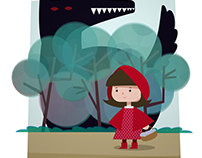 Ilustración digital | Caperucita Roja / Red Riding Hood