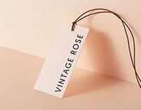 Vintage Rose Branding