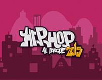 FESTIVAL HIP HOP AL PARQUE 2015 - Cartel prop.