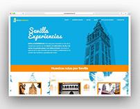 Diseño web para Sevilla Experiencias