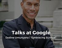 "Talks at Google | Dydine Umunyana: ""Embracing Survival"""